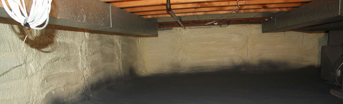 crawl space insulation in Arizona